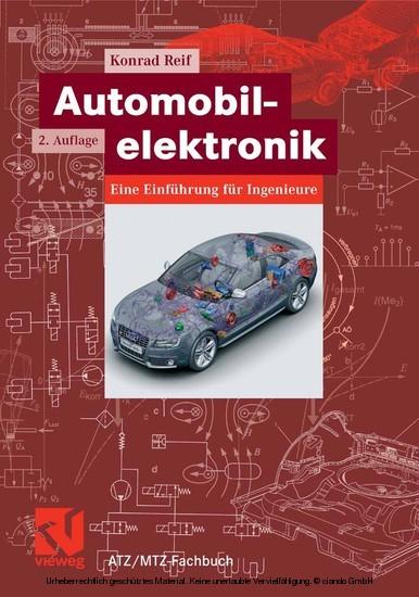 Automobilelektronik - Blick ins Buch