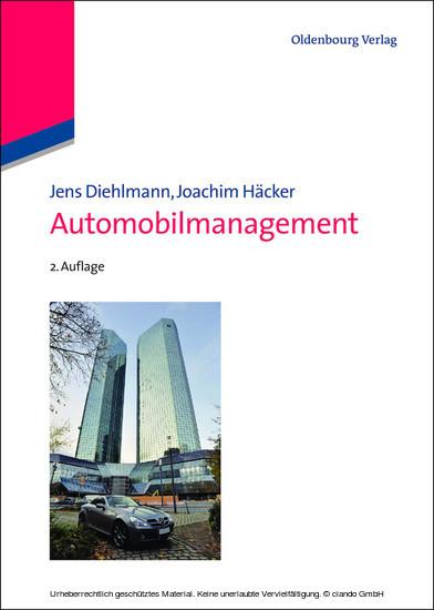 Automobilmanagement - Blick ins Buch