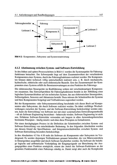 Automotive Software Engineering - Blick ins Buch