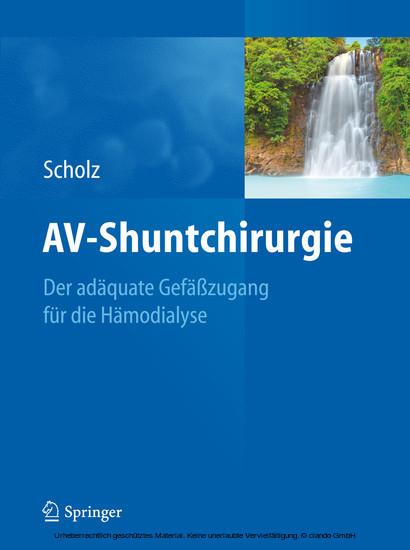 AV-Shuntchirurgie - Blick ins Buch