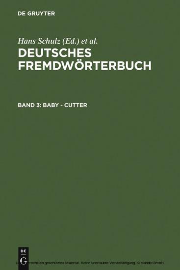 Baby - Cutter - Blick ins Buch