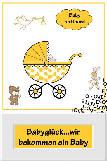 Babyglück...wir bekommen ein Baby - Blick ins Buch