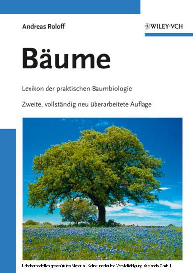 Bäume - Blick ins Buch
