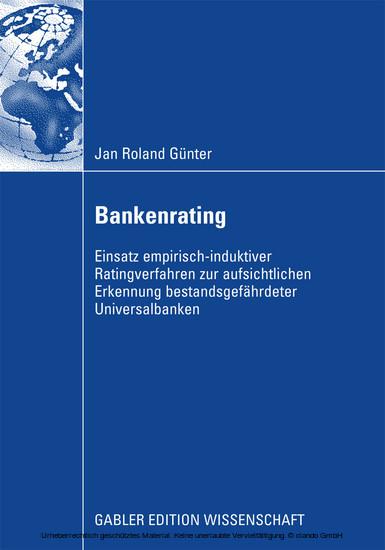 Bankenrating - Blick ins Buch