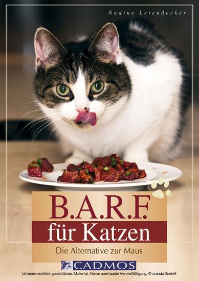 B.A.R.F. für Katzen - Blick ins Buch