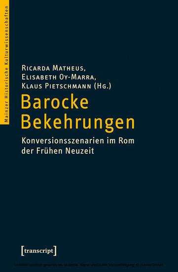 Barocke Bekehrungen - Blick ins Buch