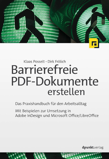 Barrierefreie PDF-Dokumente erstellen - Blick ins Buch