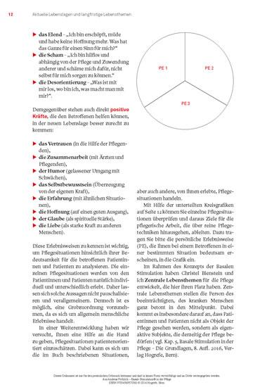 Basale Stimulation® in der Pflege - Blick ins Buch