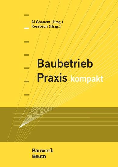 Baubetrieb Praxis kompakt - Blick ins Buch