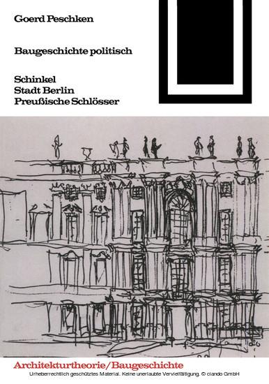Baugeschichte politisch - Blick ins Buch