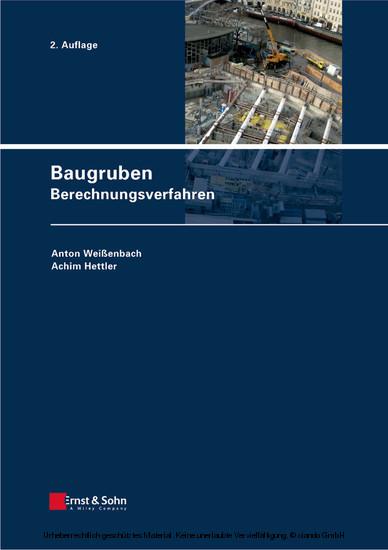 Baugruben - Blick ins Buch