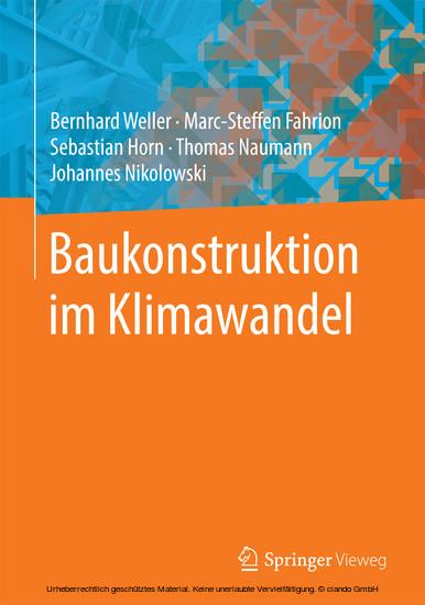 Baukonstruktion im Klimawandel - Blick ins Buch