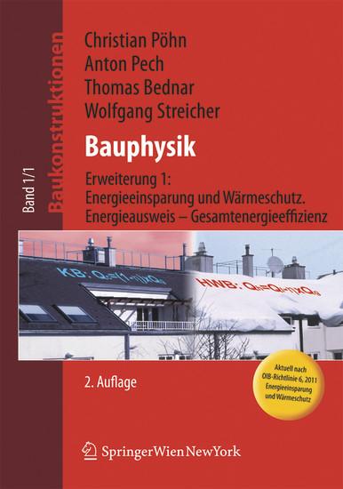 Baukonstruktionen / Bauphysik - Blick ins Buch
