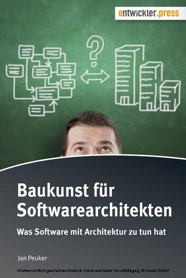 Baukunst für Softwarearchitekten - Blick ins Buch