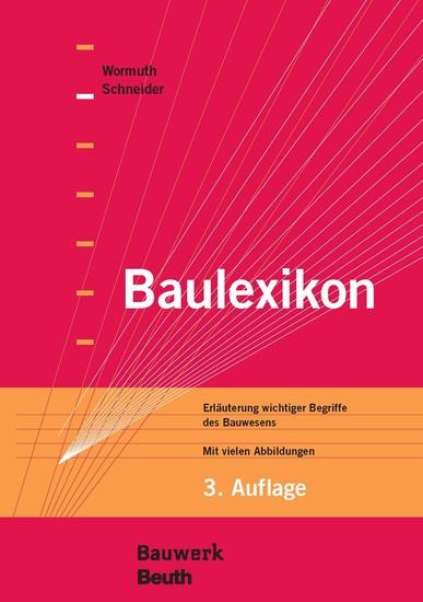Baulexikon - Blick ins Buch