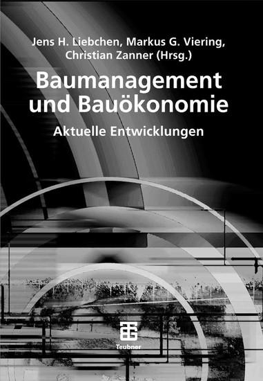 Baumanagement und Bauökonomie - Blick ins Buch