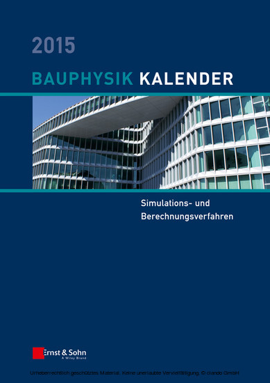 Bauphysik Kalender 2015 - Blick ins Buch