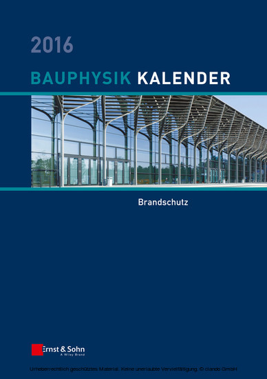 Bauphysik-Kalender 2016 - Blick ins Buch