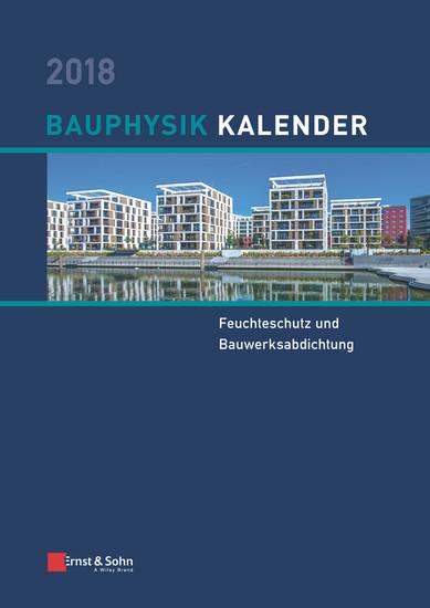 Bauphysik Kalender 2018 - Blick ins Buch