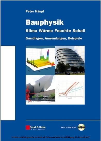 Bauphysik - Klima Wärme Feuchte Schall - Blick ins Buch