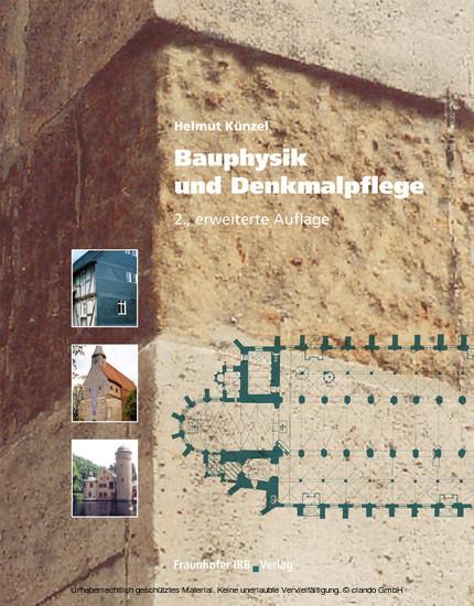 Bauphysik und Denkmalpflege. - Blick ins Buch