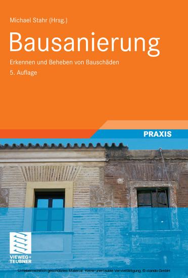 Bausanierung - Blick ins Buch