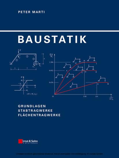 Baustatik - Blick ins Buch