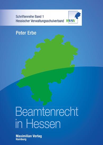 Beamtenrecht in Hessen - Blick ins Buch