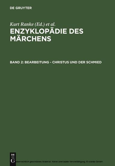 Bearbeitung - Christus und der Schmied - Blick ins Buch