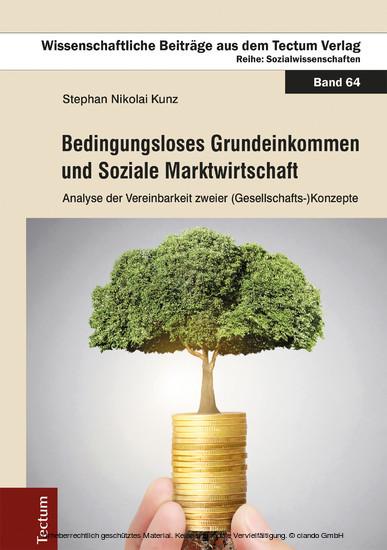 Bedingungsloses Grundeinkommen und Soziale Marktwirtschaft - Blick ins Buch
