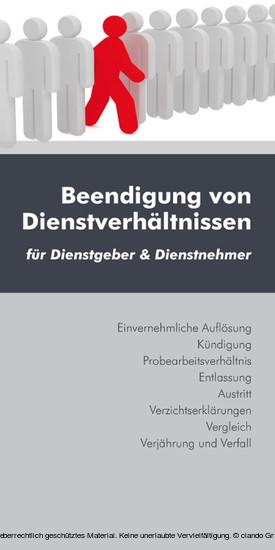 Beendigung von Dienstverhältnissen (Ausgabe Österreich) - Blick ins Buch