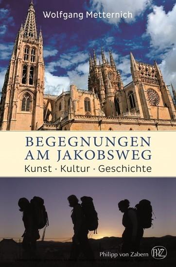 Begegnungen am Jakobsweg - Blick ins Buch