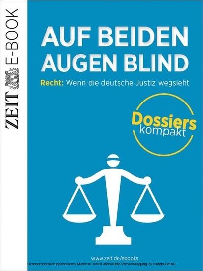 Auf beiden Augen blind - Blick ins Buch