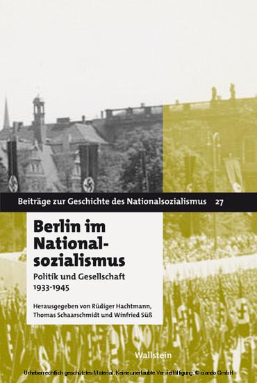 Berlin im Nationalsozialismus - Blick ins Buch
