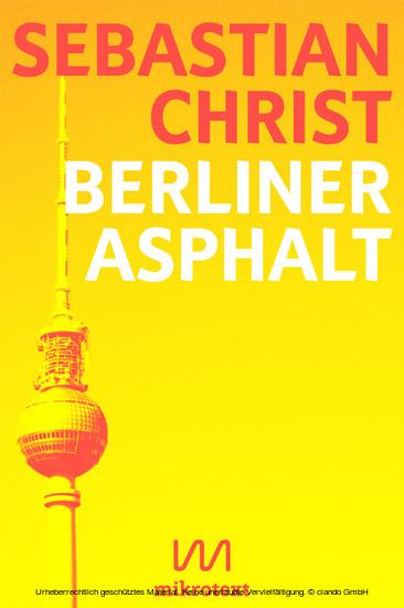 Berliner Asphalt - Blick ins Buch