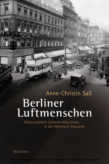 Berliner Luftmenschen - Blick ins Buch