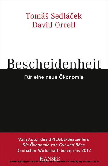 Bescheidenheit - für eine neue Ökonomie - Blick ins Buch