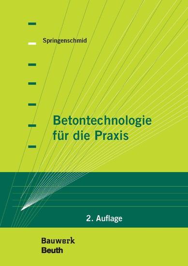 Betontechnologie für die Praxis - Blick ins Buch