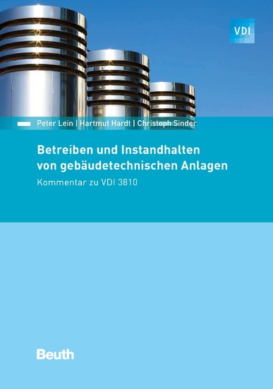 Betreiben und Instandhalten von gebäudetechnischen Anlagen - Blick ins Buch
