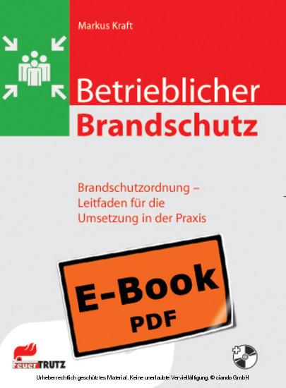 Betrieblicher Brandschutz - Brandschutzordnung - Blick ins Buch