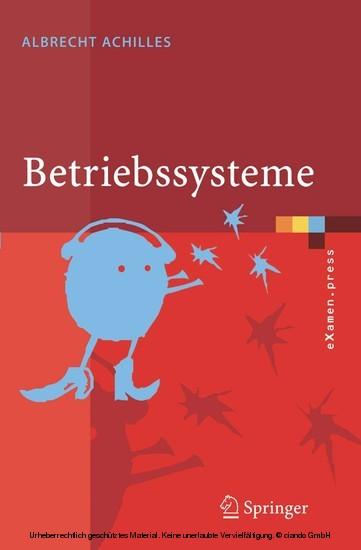 Betriebssysteme - Blick ins Buch