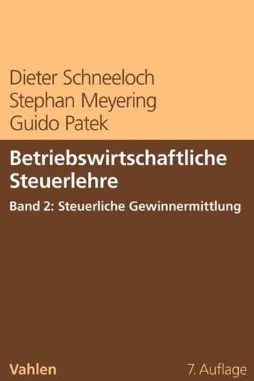 Betriebswirtschaftliche Steuerlehre Band 2: Steuerliche Gewinnermittlung - Blick ins Buch