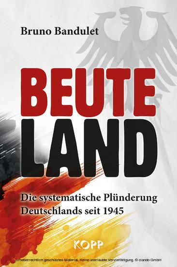Beuteland - Blick ins Buch