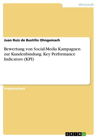 Bewertung von Social-Media Kampagnen zur Kundenbindung. Key Performance Indicators (KPI) - Blick ins Buch