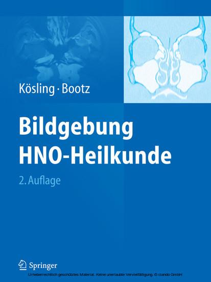 Bildgebung HNO-Heilkunde - Blick ins Buch