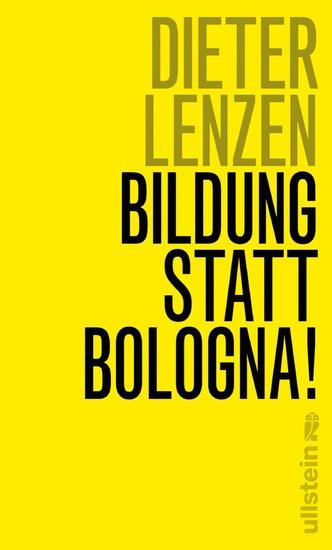 Bildung statt Bologna! - Blick ins Buch