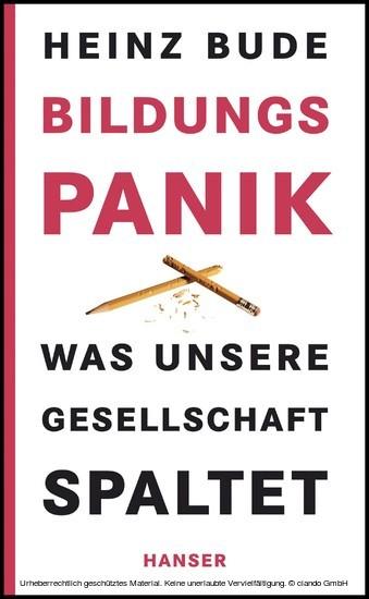 Bildungspanik - Blick ins Buch