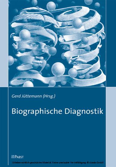 Biographische Diagnostik - Blick ins Buch