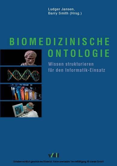 Biomedizinische Ontologie - Blick ins Buch