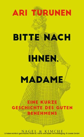 Bitte nach Ihnen, Madame - Blick ins Buch